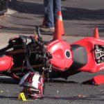 Crash scene in Chula Vista
