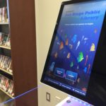 San Diego Public Library self-check machine