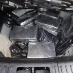 Drug bust: five bundles of cocaine and five bundles of heroin
