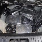 Drug bust: five bundles of cocaine and five bundles of heroin