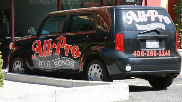 Bail bonds vehicle