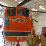 Erickson Aircrane Sun Bird and its pilots