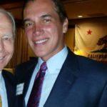 Dr. James Veltmeyer with former Gov. Pete Wilson.