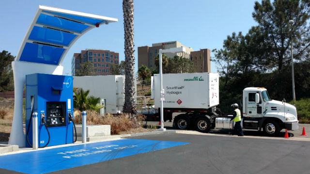 2020年の年間水素自動車になってしまうカリフォルニア