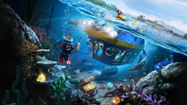 Legoland submarine ride