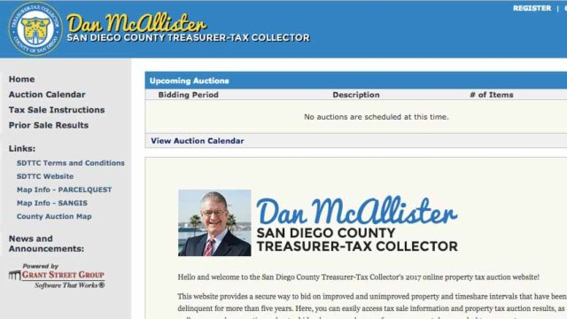San Diego Sales Tax 2017 >> Bidders On Piece Of Paradise Net County 7 8m Times Of San Diego