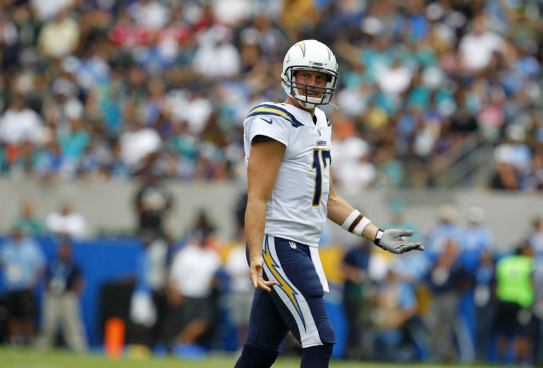 Philip Rivers, Chargers vs. Dolphins