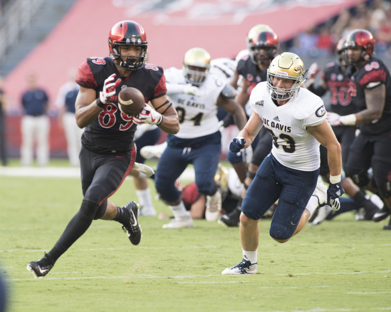College football: UC Davis vs San Diego State