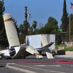 A Piper aircraft crash landed in an El Cajon residential area on Sunday afternoon.