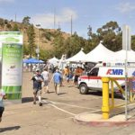 Electric Vehicle Day drew crowds who test drove electric cars.