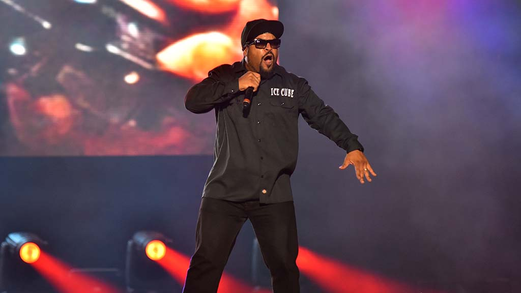 Rapper-actor Ice Cube performs at KAABOO Del Mar.