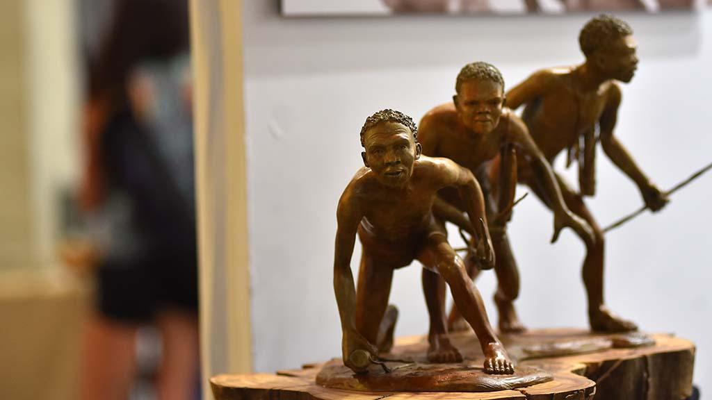 Artwork by Sonja Metzler is on display at KAABOO Del Mar. Photo