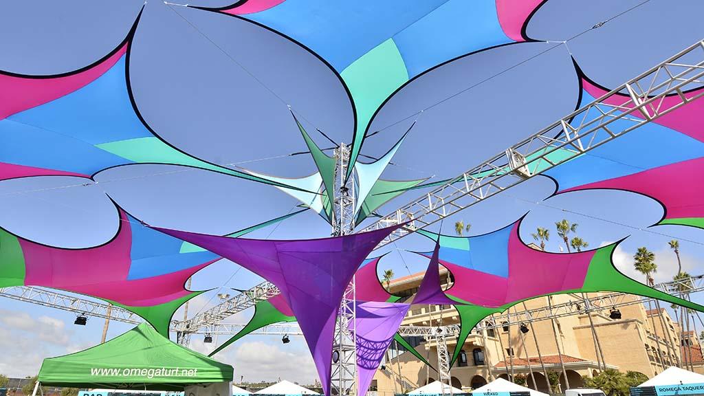 Artwork is a part of 2007 KAABOO Del Mar.