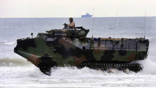 Marine Corps amphibious assault vehicle