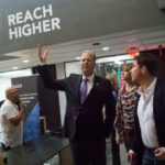 Mayor Kevin Faulconer at Downtown Works