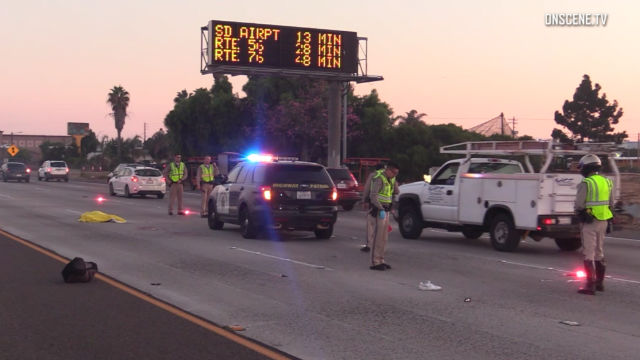 Pedestrian hit and killed on Interstate 5 in Chula Vista
