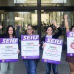 SEIU 221 protest