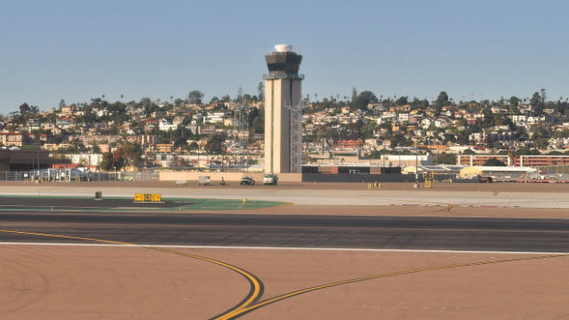 Control tower at Lindbergh Field