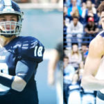 Toreros football and basketball players