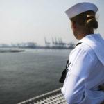 Aviation Electrician's Mate 2nd Class Ashley Bennett on the USS Coronado