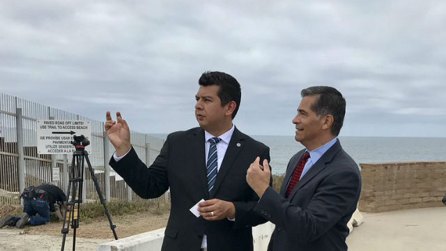 Xavier Becerra and David Alvarez