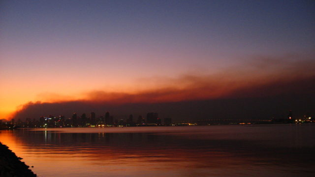 San Diego fires 2007
