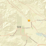 Location of Borrego Springs quake