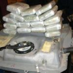 Cocaine recovered from the gas tank of the 2012 Ford Edge.