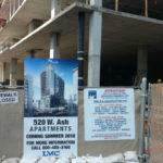 Apartments under construciton
