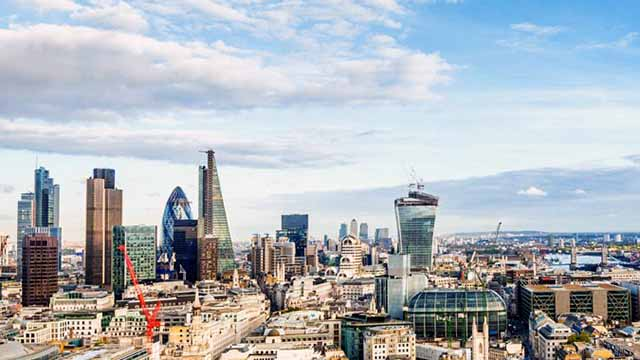 London skyline in image tweeted by SEDC.