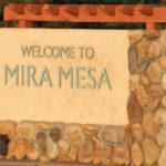Mira Mesa sign