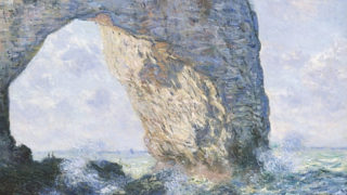 Detail of Monet painting