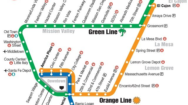 Orange Line trolley