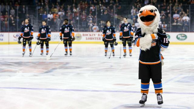San Diego Gulls mascot
