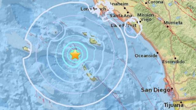39 magnitude pacific ocean quake shakes santa catalina island location of earthquake off santa catalina island sciox Gallery
