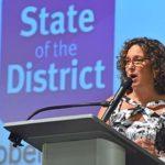 SDUSD Superintendent Cindy Marten