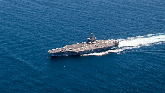 USA  military to launch 3-carrier drill in Pacific