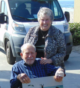 Walter Munk and his wife Mary.