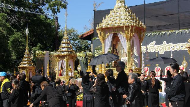 Ceremony at Wat Thai