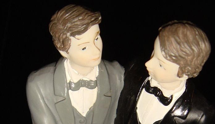 Wedding Cake Gay Couple