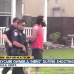 Suspect in Chula Vista day-care fire, shooting is led off.