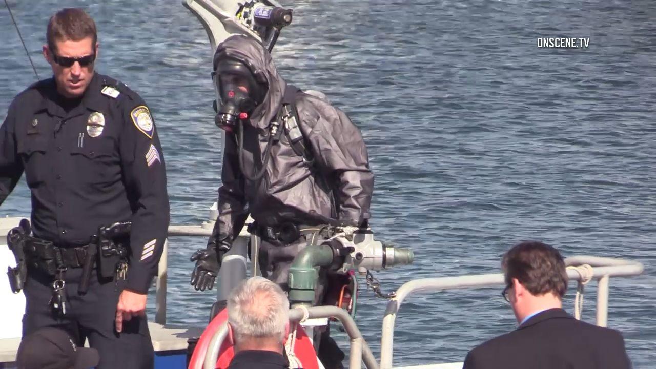 Body found in barrel Investigators on scene in San Diego ...
