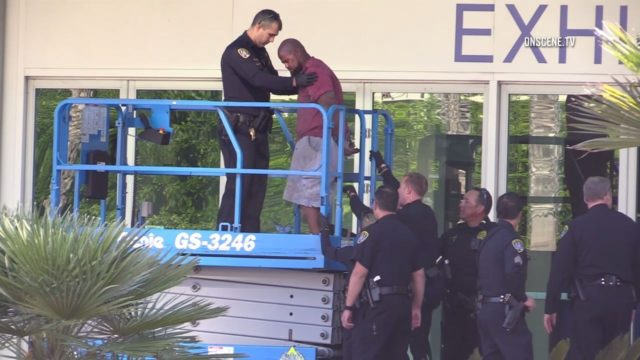 police standoff suspect