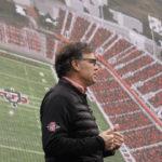 John David Wicker with stadium rendering