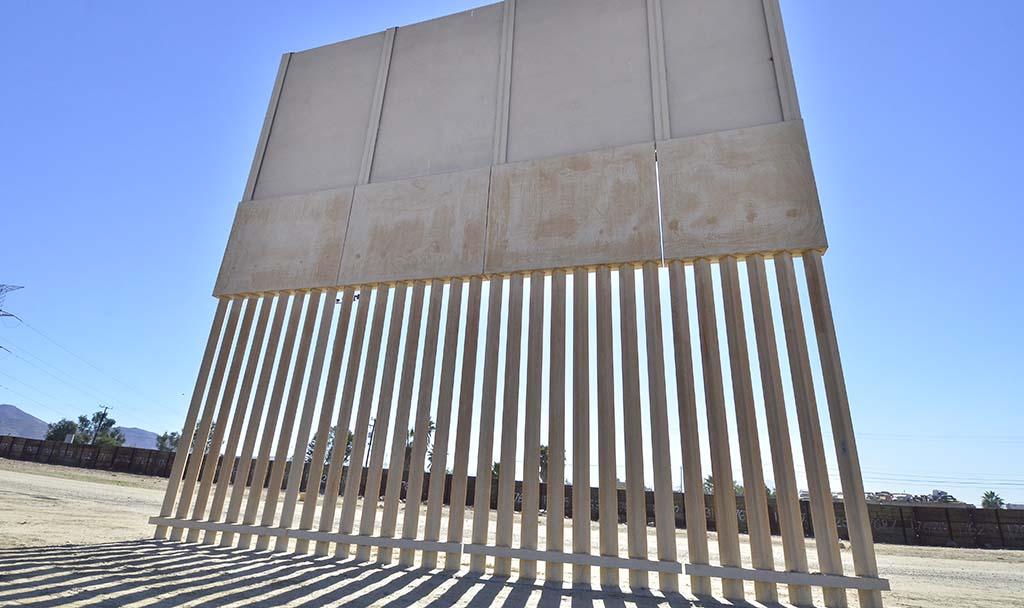 Border Wall prototype