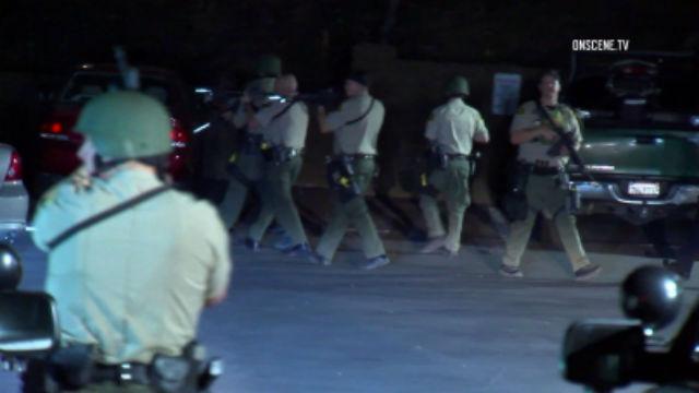 San Diego Sheriff's deputies