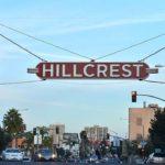 HIllcrest sign.