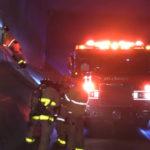 Market Street bridge fire