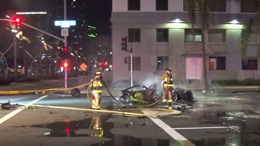 Driver Killed In Lamborghini Crash Was Marijuana