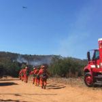 Firefighters at Oaks Fire